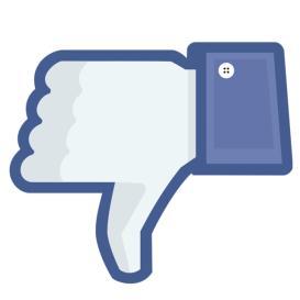 Facebook-style 'dislike' symbol