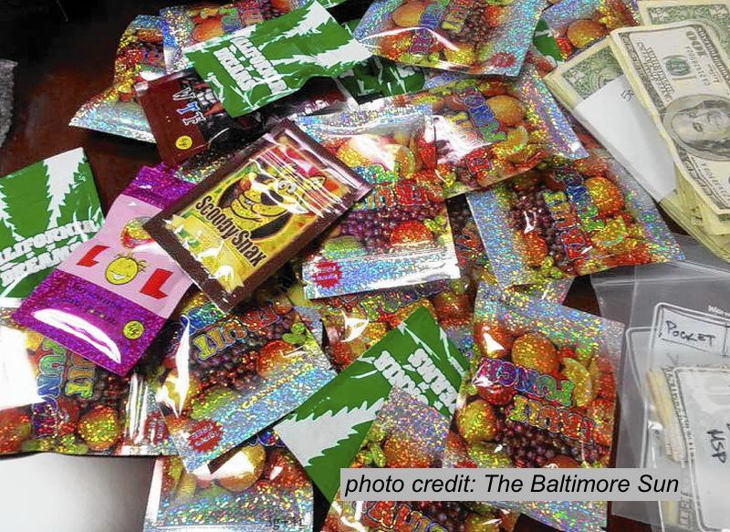 various Spice packets for sale