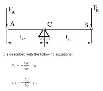 first class lever formula