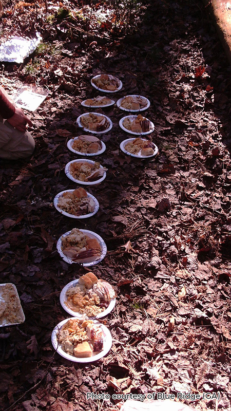 thanksgiving dinner and wilderness therapy