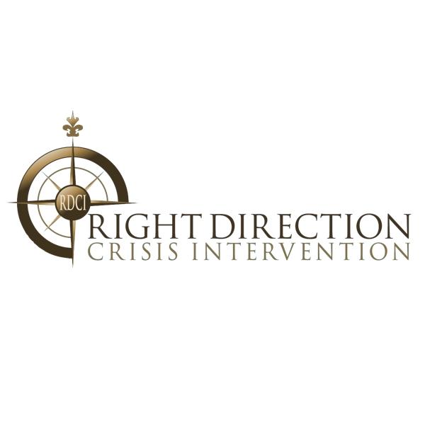 Right direction crisis intervention logo