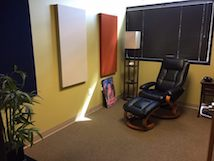 Office with recliner chair