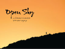 Open sky wilderness therapy logo