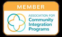 Association for community integration programs logo