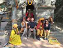 A group of people in Nepal