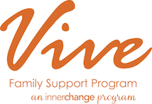 Vive family support program logo