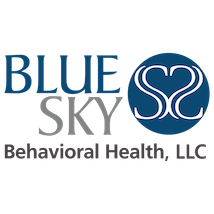 BlueSky Behavioral Health Logo