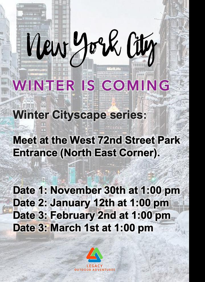 Cityscapes series announcement