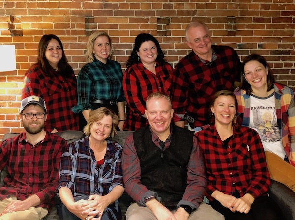 Picture of Onward Transitions aftercare team.