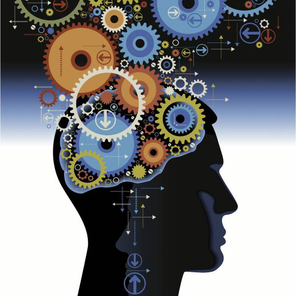 image of a mind with gears