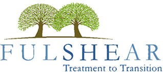 Fulshear Treatment to Transition logo with two trees.