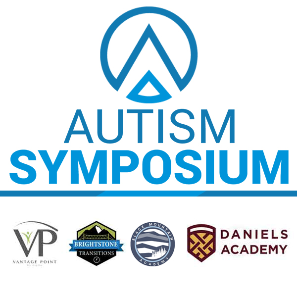 Autism Symposium Logo with supporting sponsors