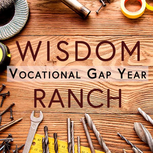 Wisdom Ranch vocational gap year logo