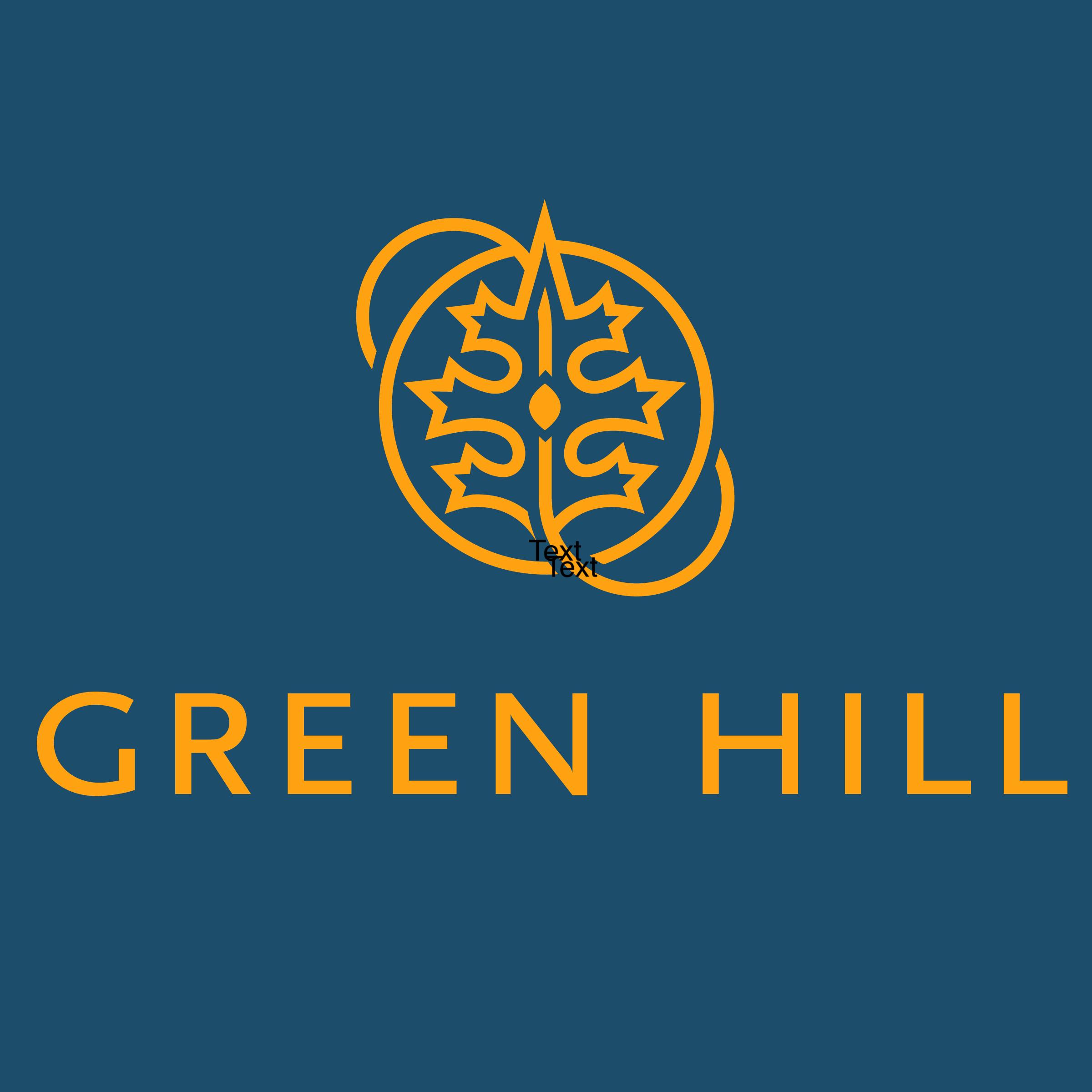 Green Hill logo.