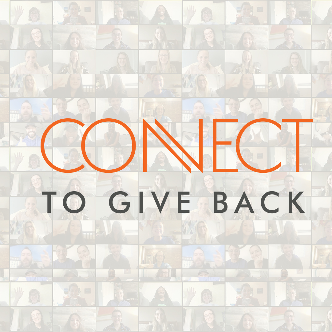 Connect to Give Back logo