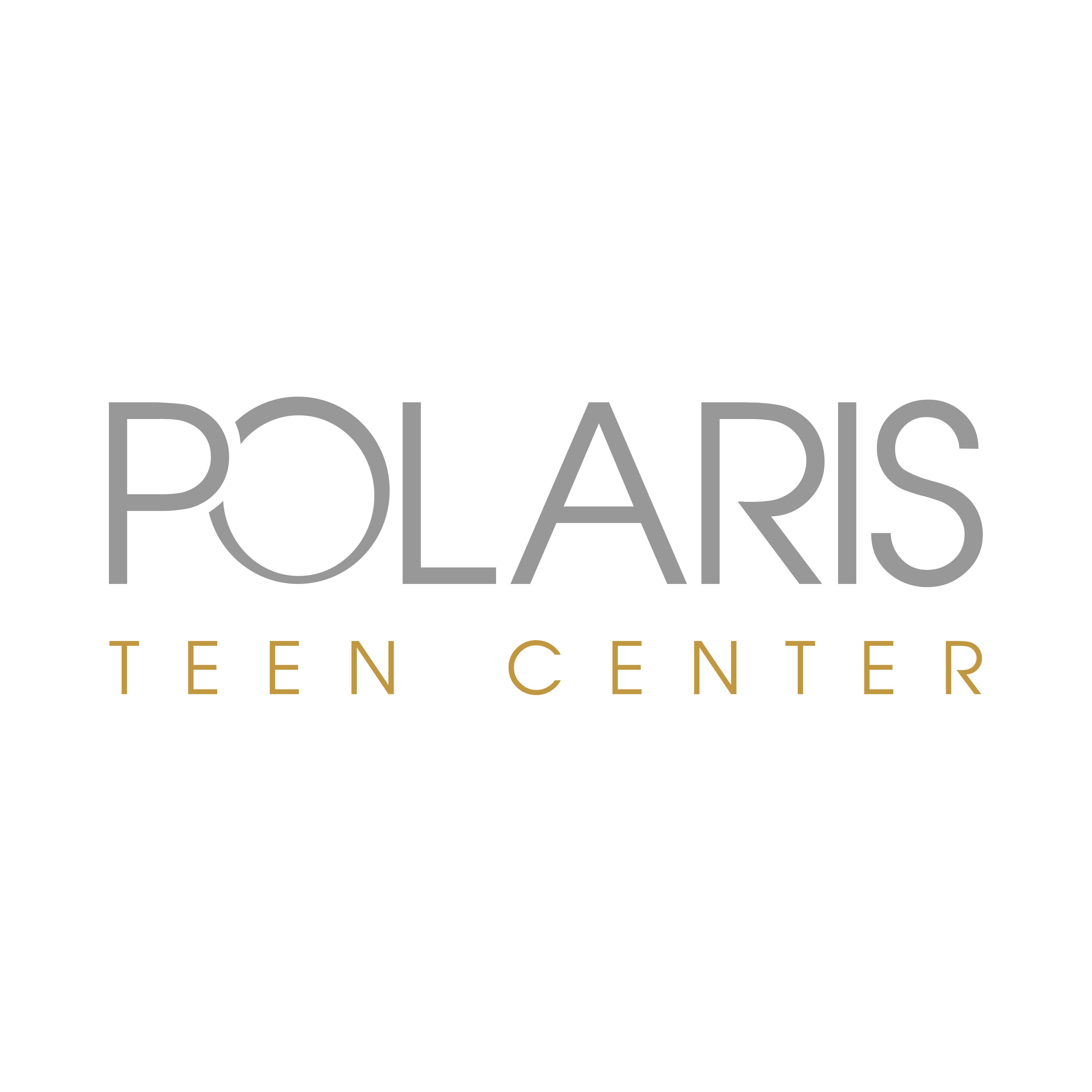 Polaris Teen Center logo.