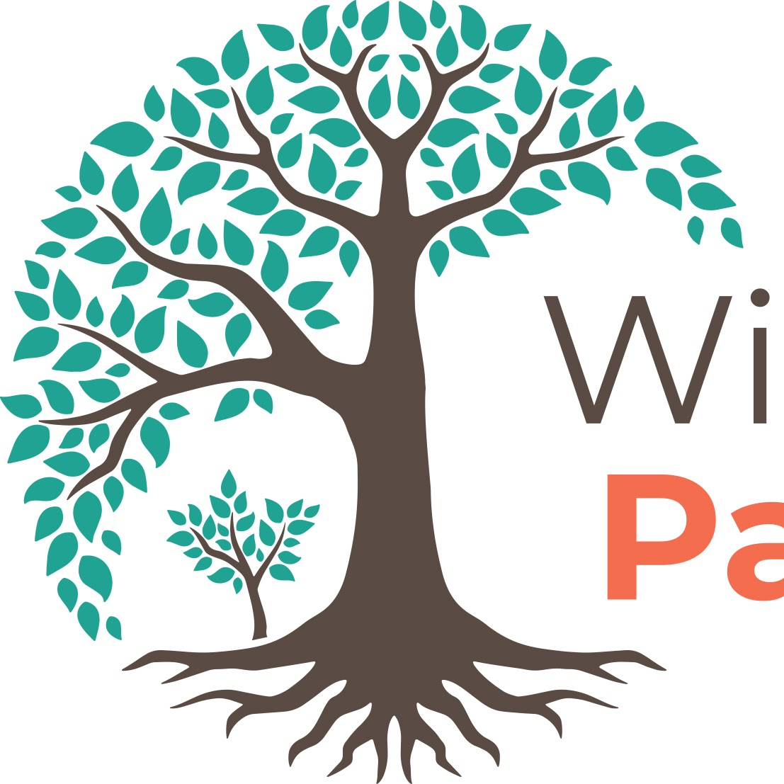 Wise Roots parenting logo