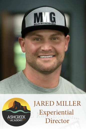 Ashcreek Academy Director of Experiential Therapy, Jared Miller