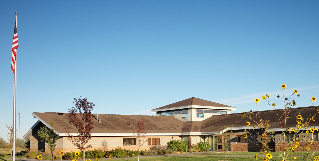 photograph of the outside of the ViewPoint Center building