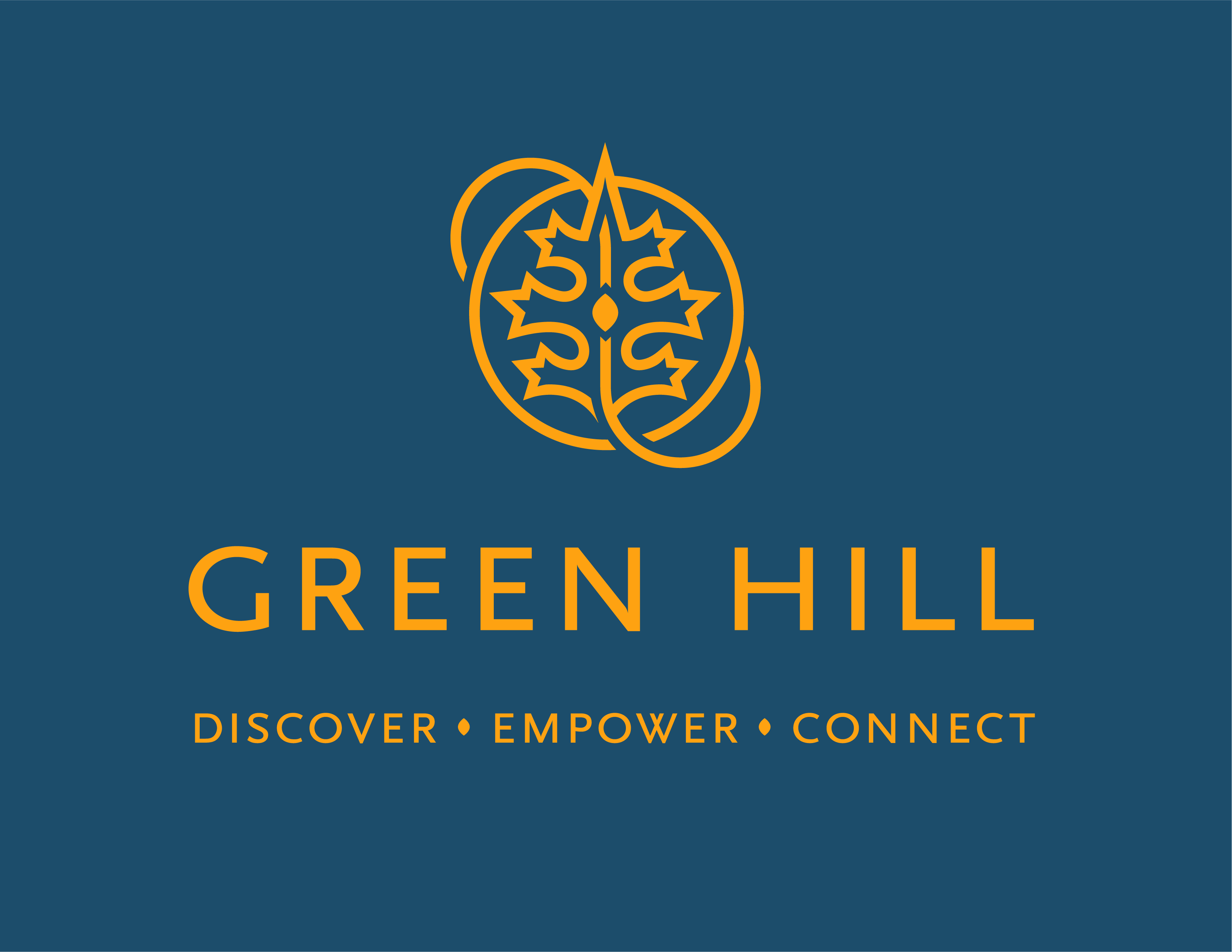 Green Hill recovery's logo.