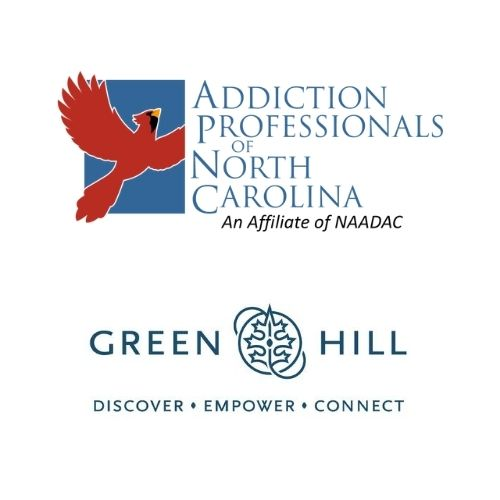 Logos of APONC and Green Hill Recovery