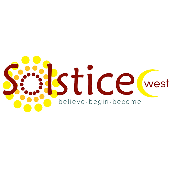 Solstice West logo.