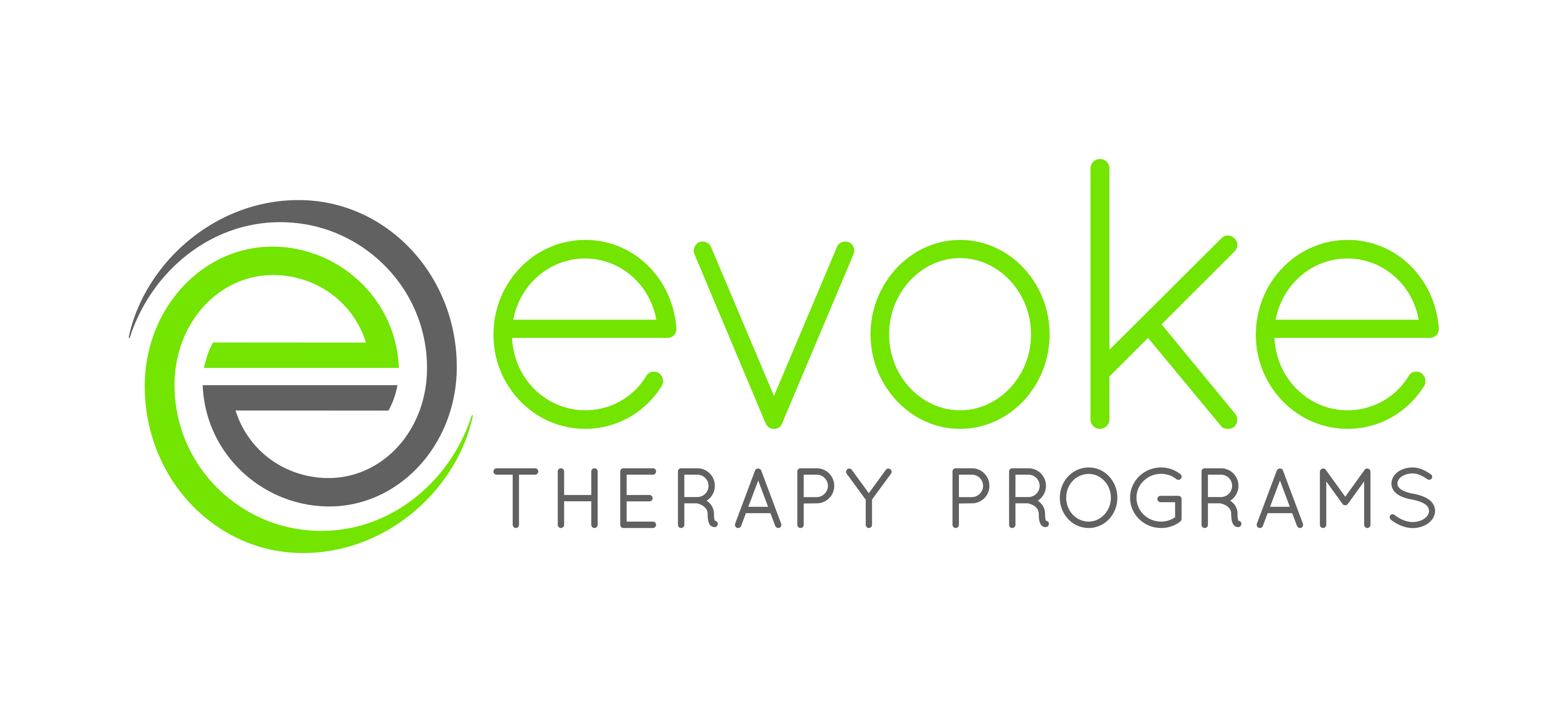 Logo for Evoke Therapy Programs