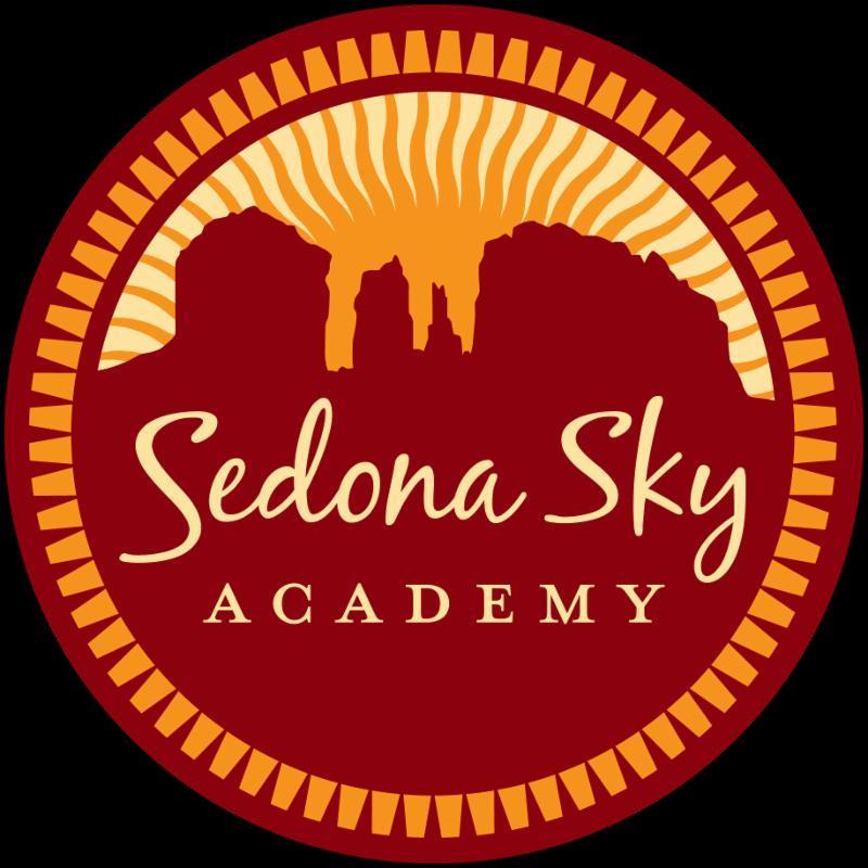 Sedona Sky Academy logo with black background