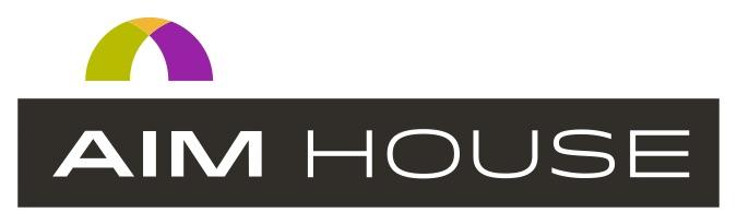 logo, AIM House