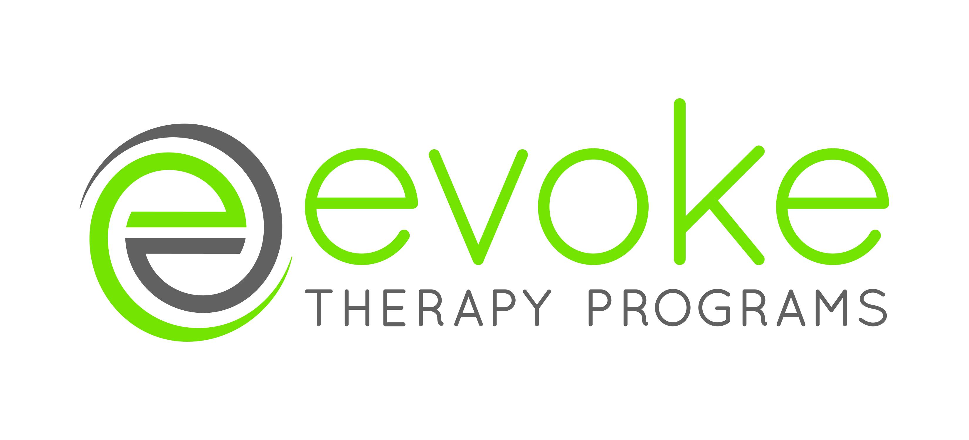 logo, Evoke Therapy Programs