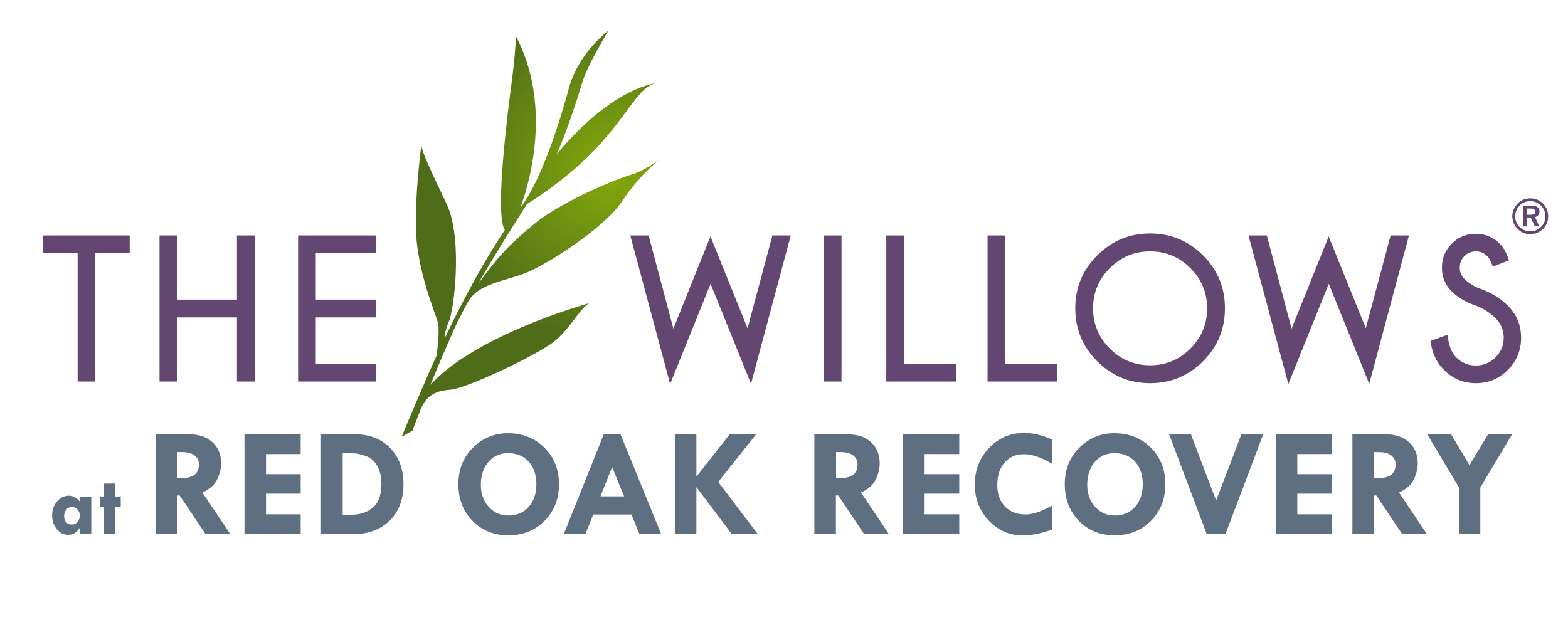 logo, The Willows at Red Oak Recovery