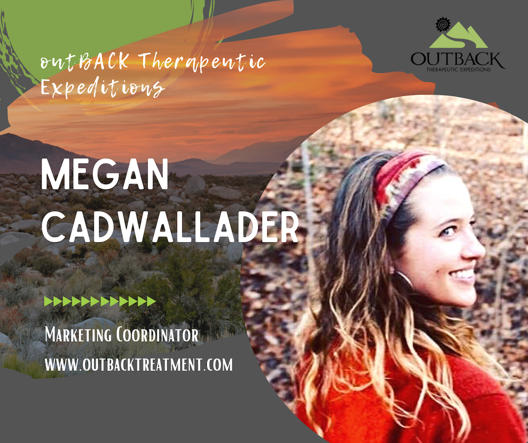 photo of Megan Cadwallader the new marketing coordinator for outbacktreatment.com